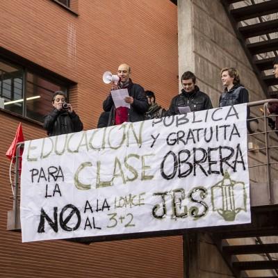 Huelga General de Educación en Cuenca