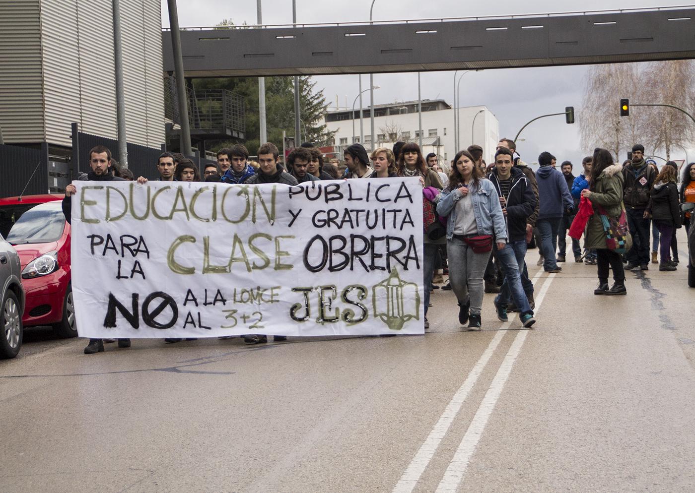 Huelga estudiantil del 24M en Cuenca