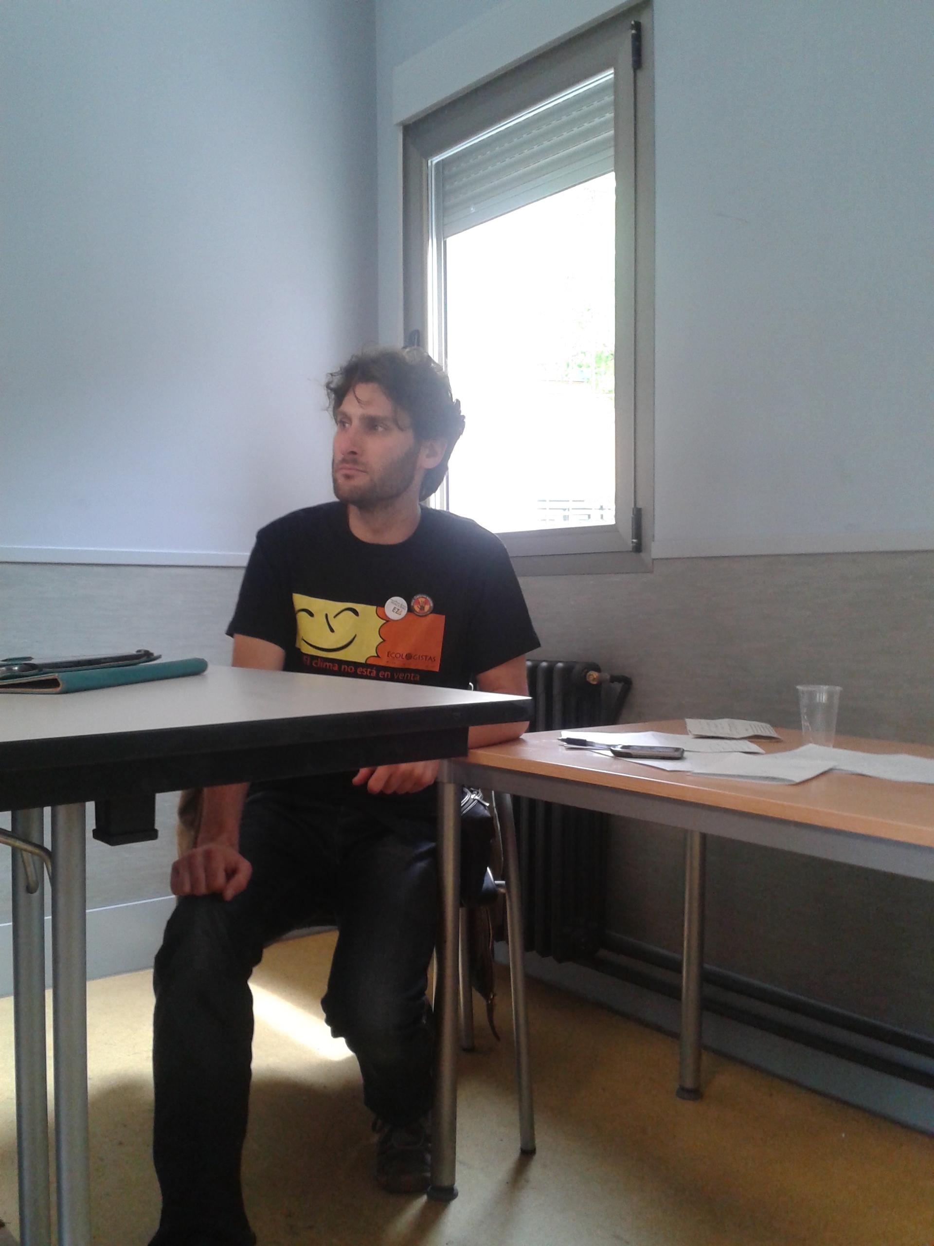 Rodrigo Irurzun, Área de Energía de Ecologistas en Acción