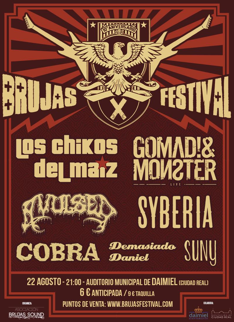 El Brujas Festival de Daimiel cumple 10 años