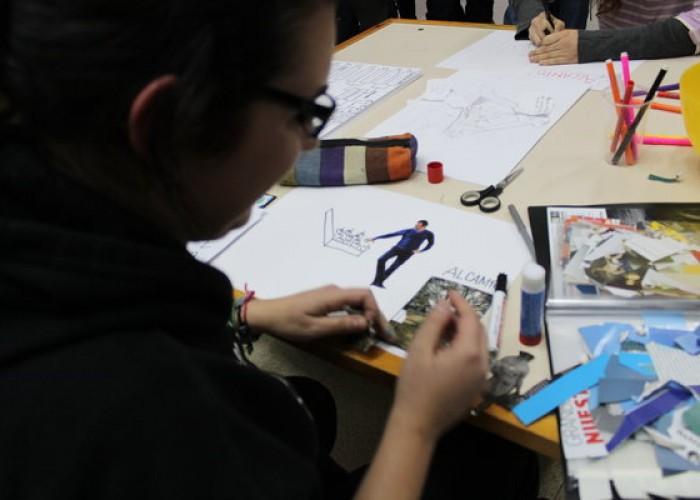 Componiendo la ilustración